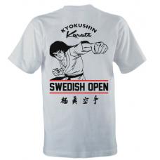 T-shirt, Swedish open - Dam