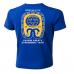 T-shirt blå - Utförsäljning, endast storlek Large kvar!